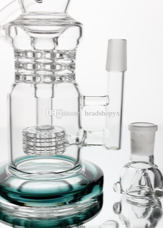 Tubos de água de vidro bongs bong de vidro com boa função e tubo de fumo Percolator com tubo de vidro reta rig