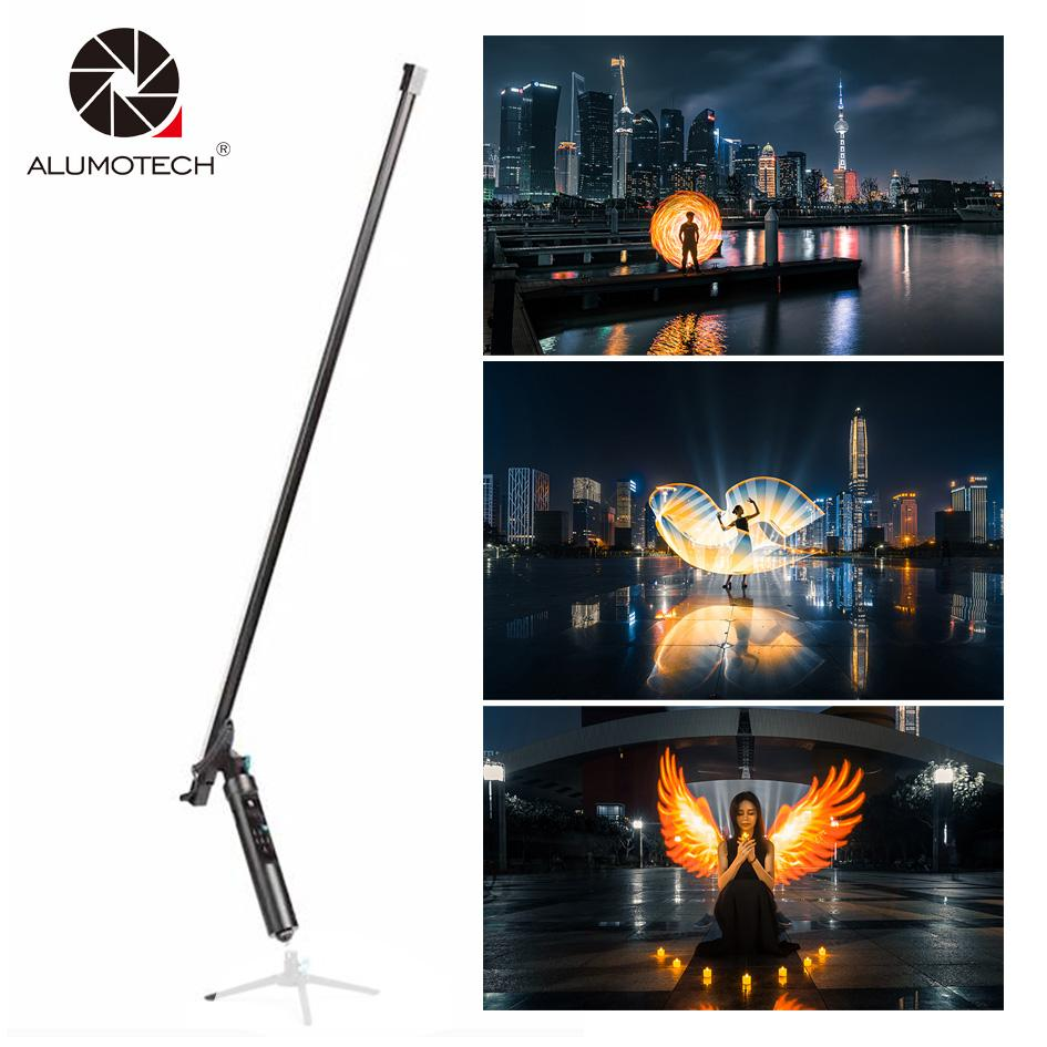wholesale Remote Magic Light Flash Plot Stick 144 LEDs The All-In-One Light Painting Tool Animation Blink For Photography Studio