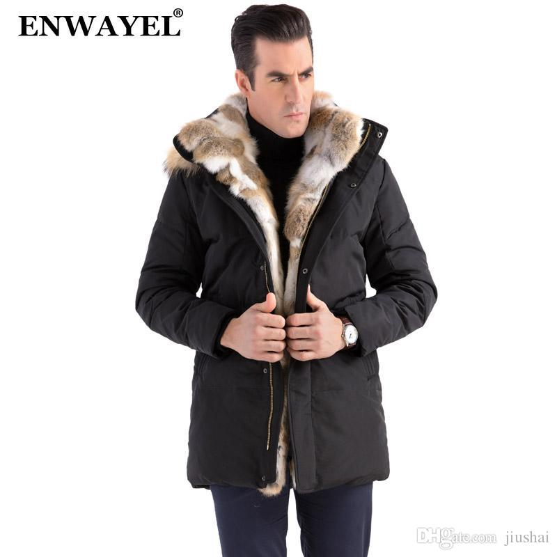 61e319604611d ENWAYEL NEW 2017 Winter Duck Down Jacket Men Down Coat Parkas Male ...