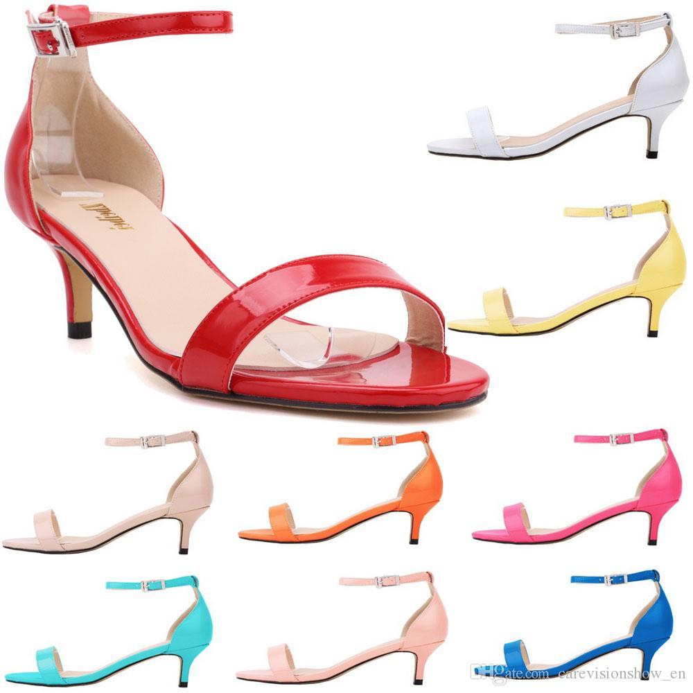 À Bas Acheter Sandales Chaussures Couleurs Talons Bout Femmes 14 LzGqSMVjUp