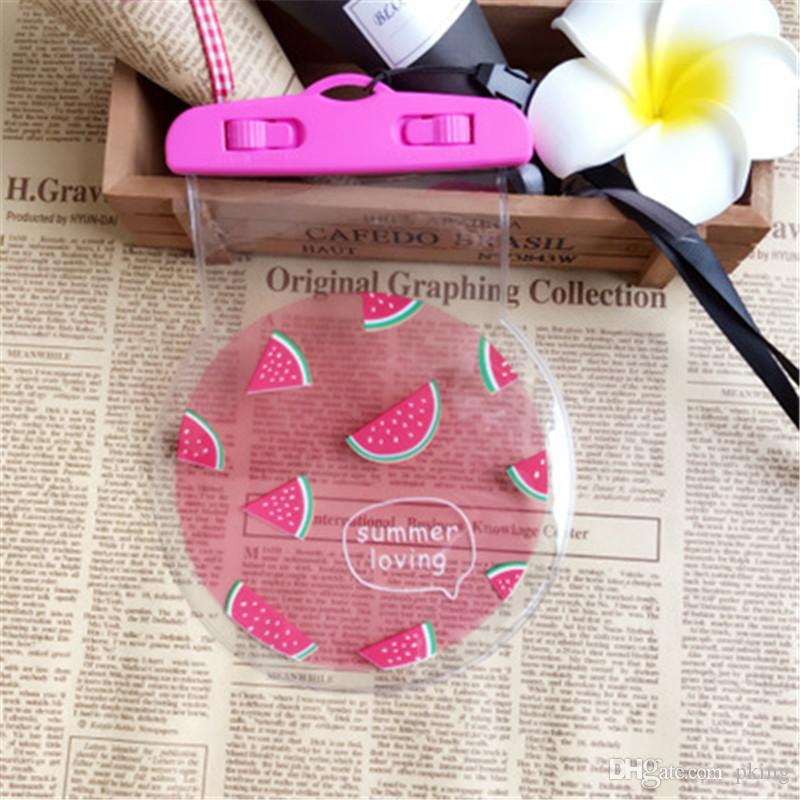 Fruit Waterproof Bag for iPhone 7 6 6S Plus 5 5S SE Case Cover for All 6inch Phone