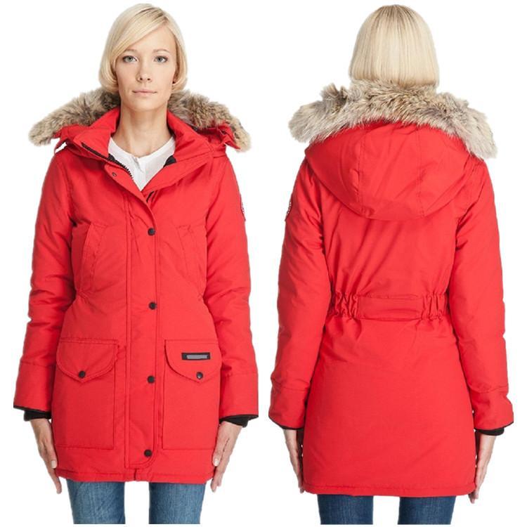 ad039e6ae17 Womens Down Jacket Fashion Thick Warm Winter Long Slim Female 100 ...