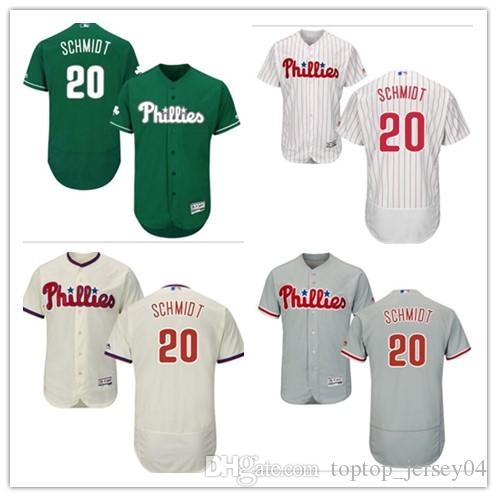ec0c13780 ... 2018 can custom philadelphia phillies 20 mike schmidt menwomenyouth  mens style baseball jersey majes