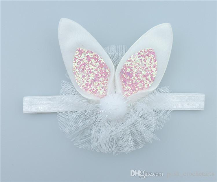 Bunny Ear Headbands for Easter Day Children Eater Hair Accessories Holiday Edition Hair kit Easter Party Supplies for Sale