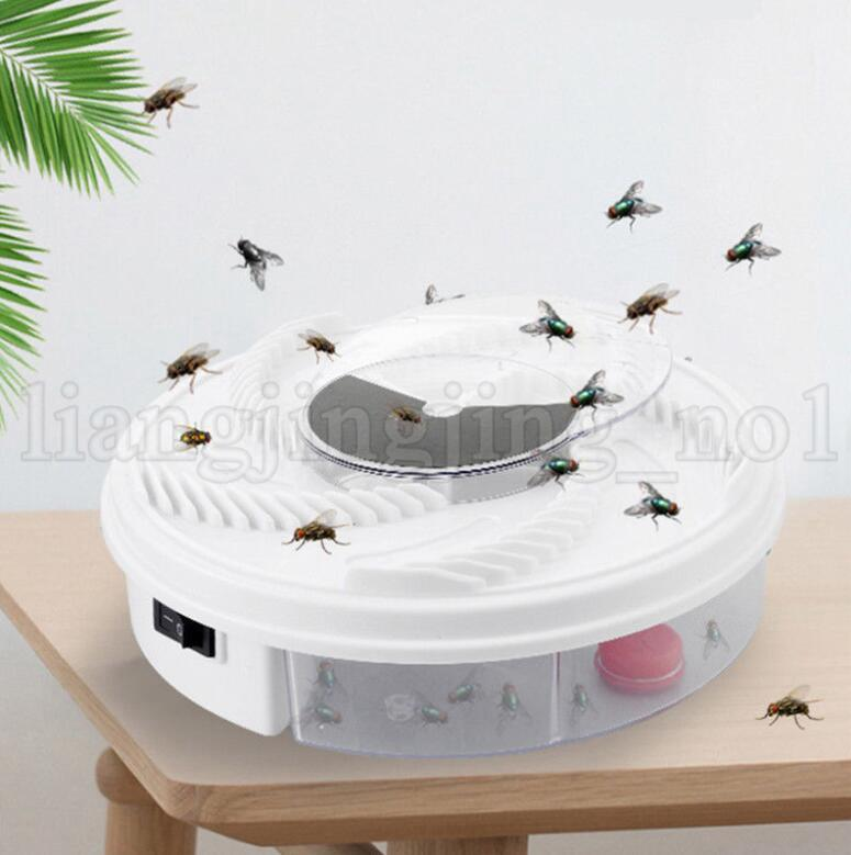 Electric USB Automatic Flycatcher Fly Trap Device Pest Reject Control Catcher flying fly killer insect Traps KKA5337