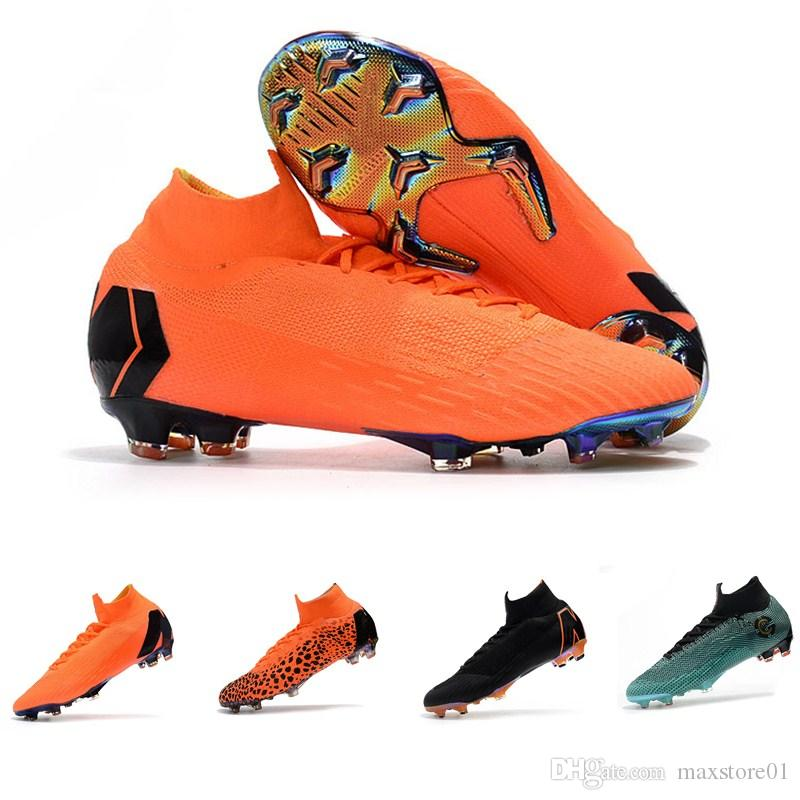 2019 Hot Kids Mercurial Superfly SuperflyX KJ VI 360 Elite Ronaldo CR7 FG  Mens Womens Boys Soccer Shoes Cristiano Football Boots Cleats From  Maxstore01 91a5c1505a