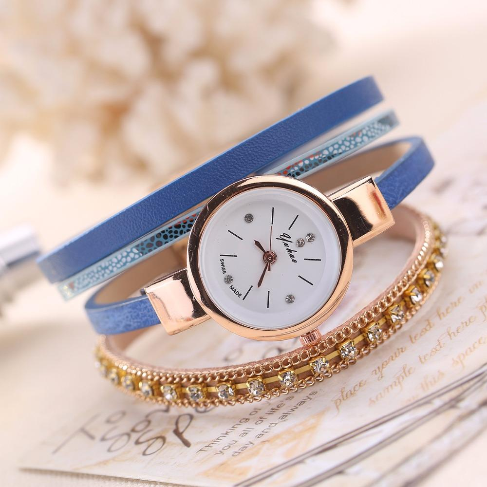 time pendant talking tone watch tel maxiaids golden ladies chain watches gold