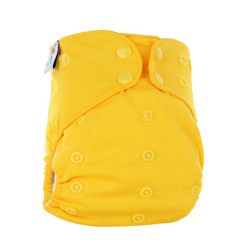 Бамбуковое волокно AIO многоразовые 2 подгузники Couche замша ткань пеленки крышка пул регулируемая Fralda детские подгузники дешевые