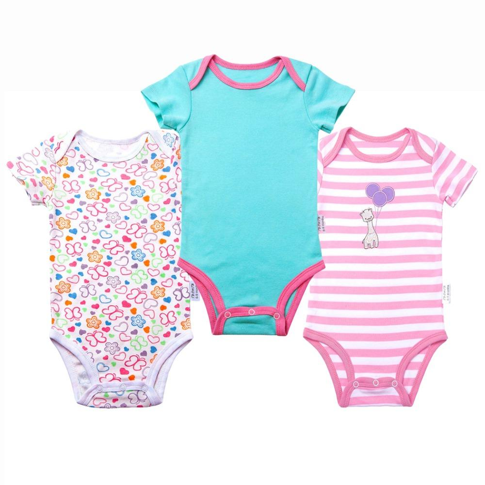 672618418 2019 Baby Boy Bodysuits Short Sleeves Boy And Girl Clothes Summer ...