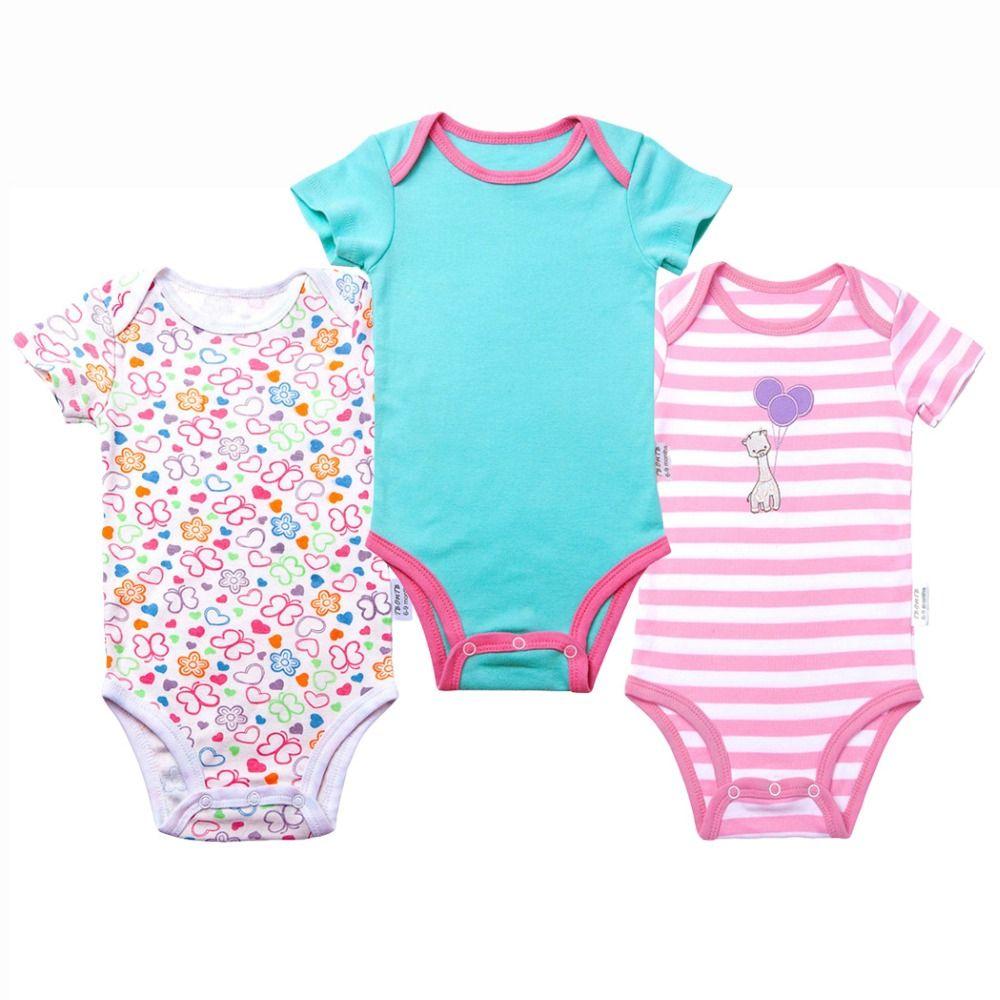 61ec9628f 2019 Baby Boy Bodysuits Short Sleeves Boy And Girl Clothes Summer ...