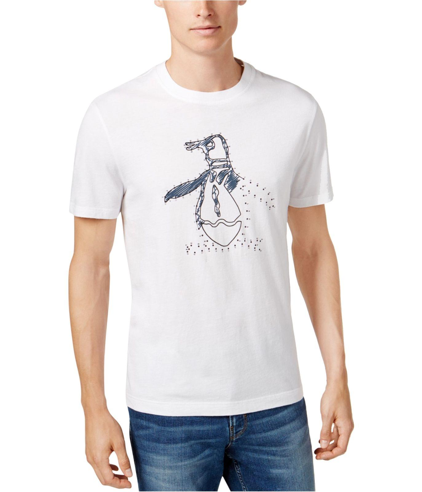 93cea6d22 Penguin Mens Connect The Dots Graphic T Shirt Streetwear Funny Print  Clothing Hip Tope Mans T Shirt Tops Tees Fun Tshirts Party T Shirts From  Biyue1, ...