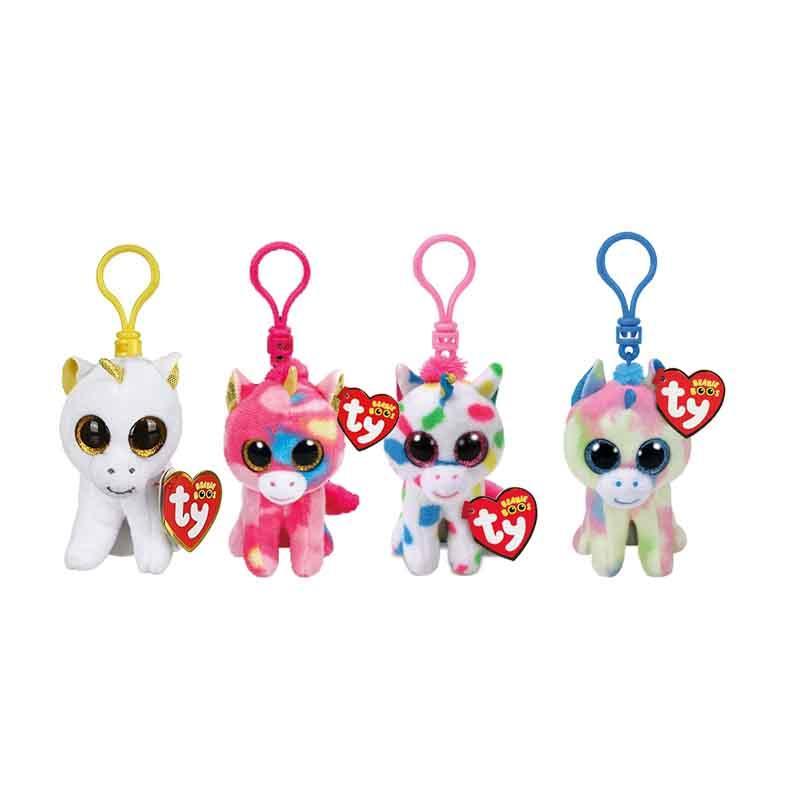 Ty Beanie Boos 4 9cm Harmonie the Clip Keychain Plush Soft Big-eyed Stuffed  Animal Collection Keyring Doll Toy Stuffed   Plush Animals Cheap Stuffed    Plush ... 0410078802ec