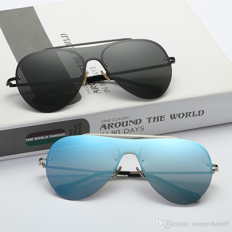 2cad1bb2d1 High Quality Polarized Sunglasses Men S Aviation Driving Shades Female Sun  Glasses For Men Retro Cheap 2018 Luxury Brand Designer Sunglass Spitfire ...