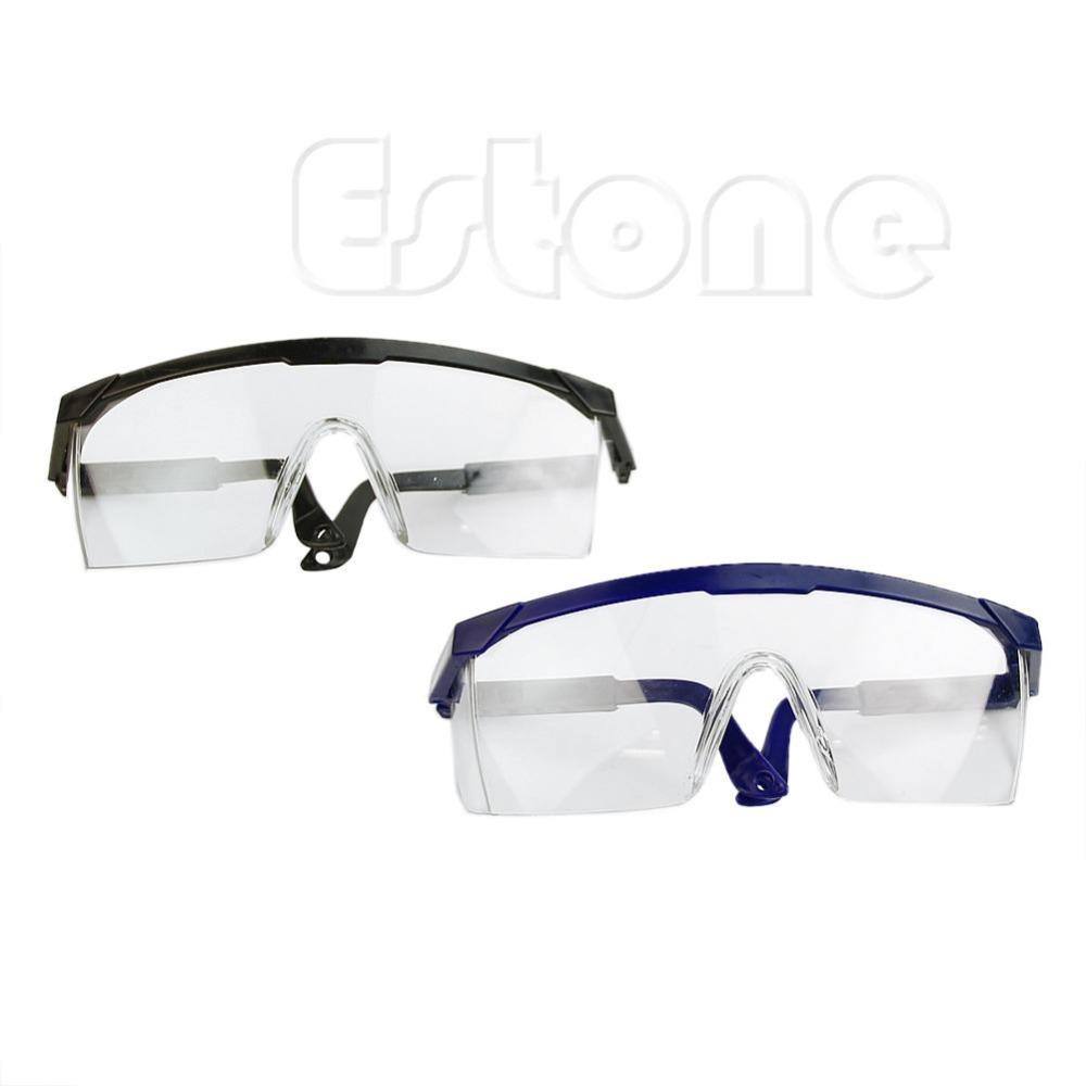 4a5fe71851 Clear Safety Glasses Goggles Work Industrial Tool Eye Wear Protection  Sunglasses Cheap Sunglasses Clear Safety Glasses Goggles Work Online with   22.75 Piece ...