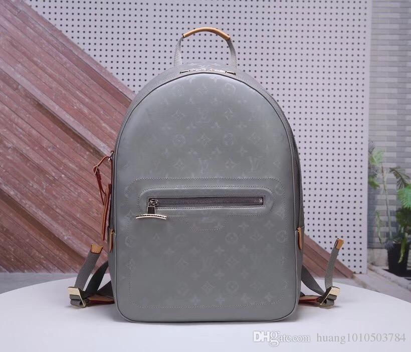 L Home Newest V Monogram Titanium Canvas Brand Luxury Men Backpack Menu0027S  Shoulder Bag Designer Bag Moccasins For Women Loafers For Women From  Guccilv, ...