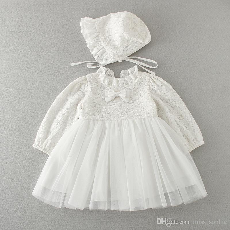 Großhandel Großhandel Baby Mädchen Kleid Taufe Kleider Sets Blumenmädchen Besondere Anlässe Kleid Für Kind Kleinkind 0 24months Von Misssophie