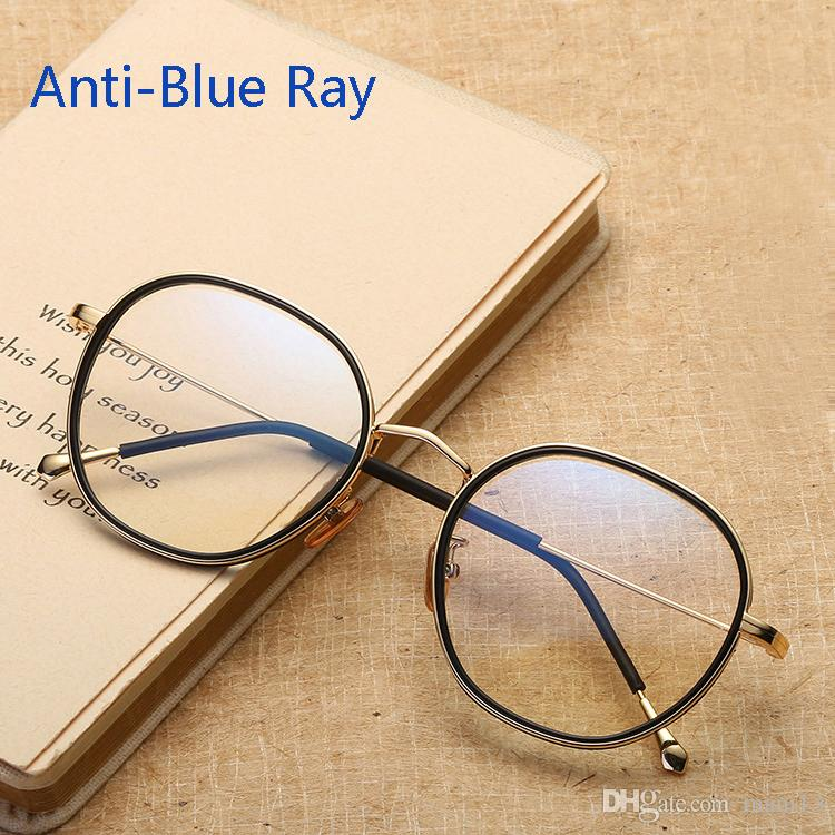 60d2795c30d Unisex Anti Radiation Blue Ray Glasses Computer Goggles Eyeglasses TR90  Metal Spectacle Frames Oculos De Grau Anti Blue Ray Glasses Computer  Goggles ...