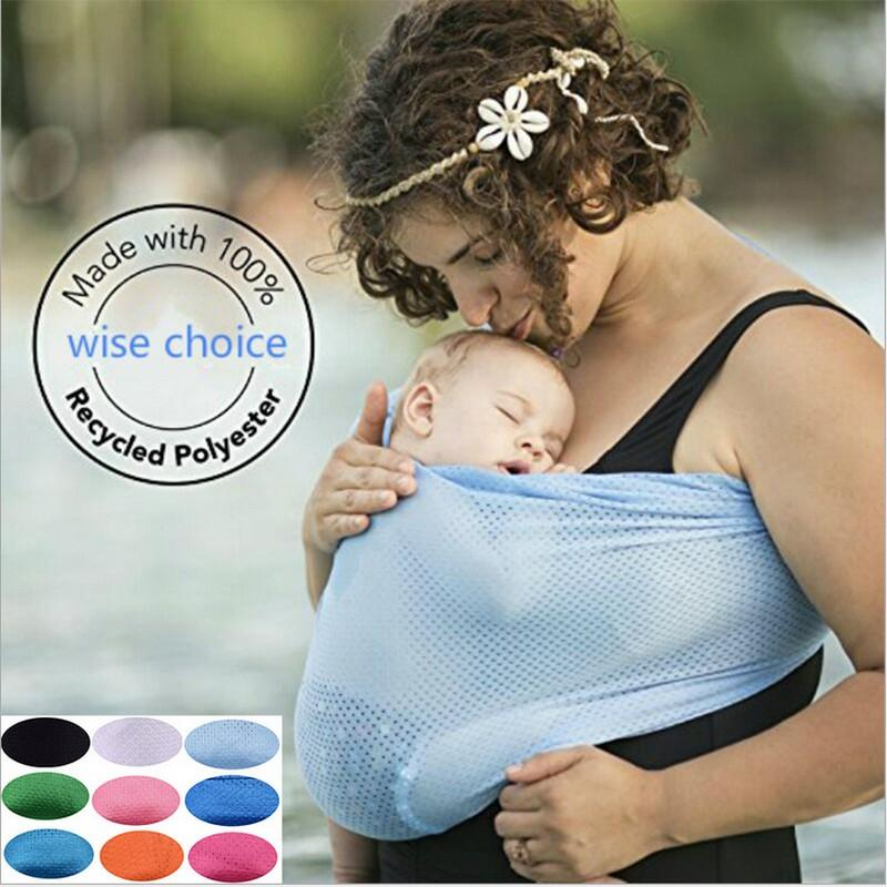 c1782e9dcfe HOT Baby Water Sling Wrap Mesh Baby Sling Quick Dry Pool Shower Carrier  Backpack Baby Gear Beach Pool Wrap Swing Sling Carrier LC952 Water Sling  Wrap Mesh ...