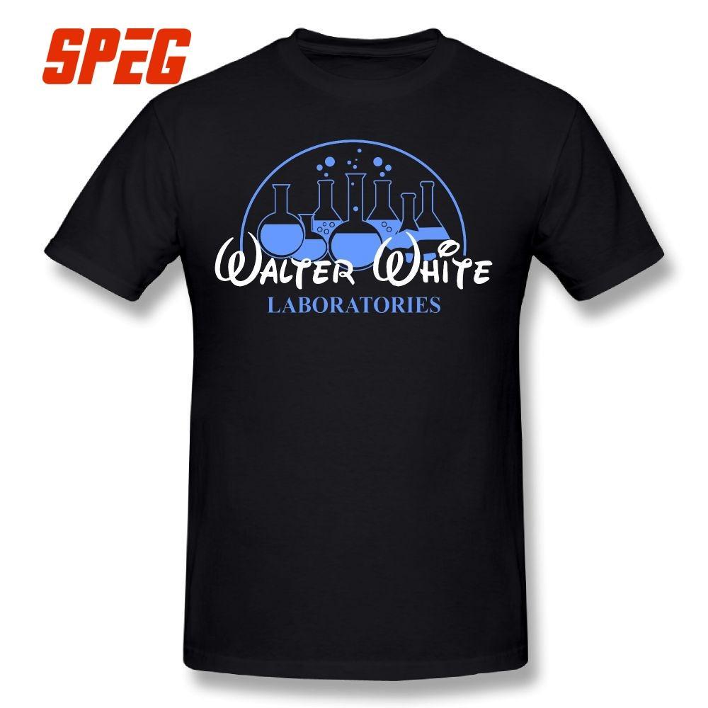 d08c045b4 Walter White Laboratories T Shirt Breaking Pinkman Bad AMC Heisenberg Mr  White 100% Cotton Tops Men'S T Shirts Breaking Bad Tees Tees T Shirts Ts  Shirt From ...