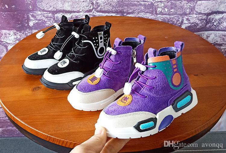 Acquista illuminazione bambini scarpe da ginnastica bambini scarpe
