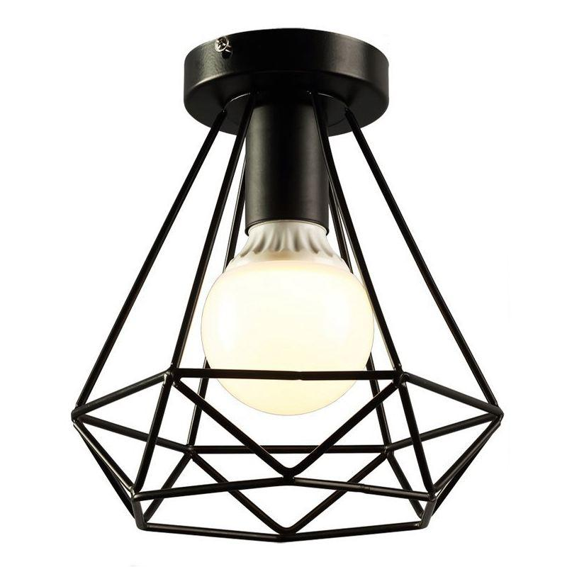 2018 Wish Vintage Industrial Rustic Flush Mount Ceiling Light Metal Pendant Lighting Lamp Fixture For Hallway From Happylights 24 73 Dhgate Com