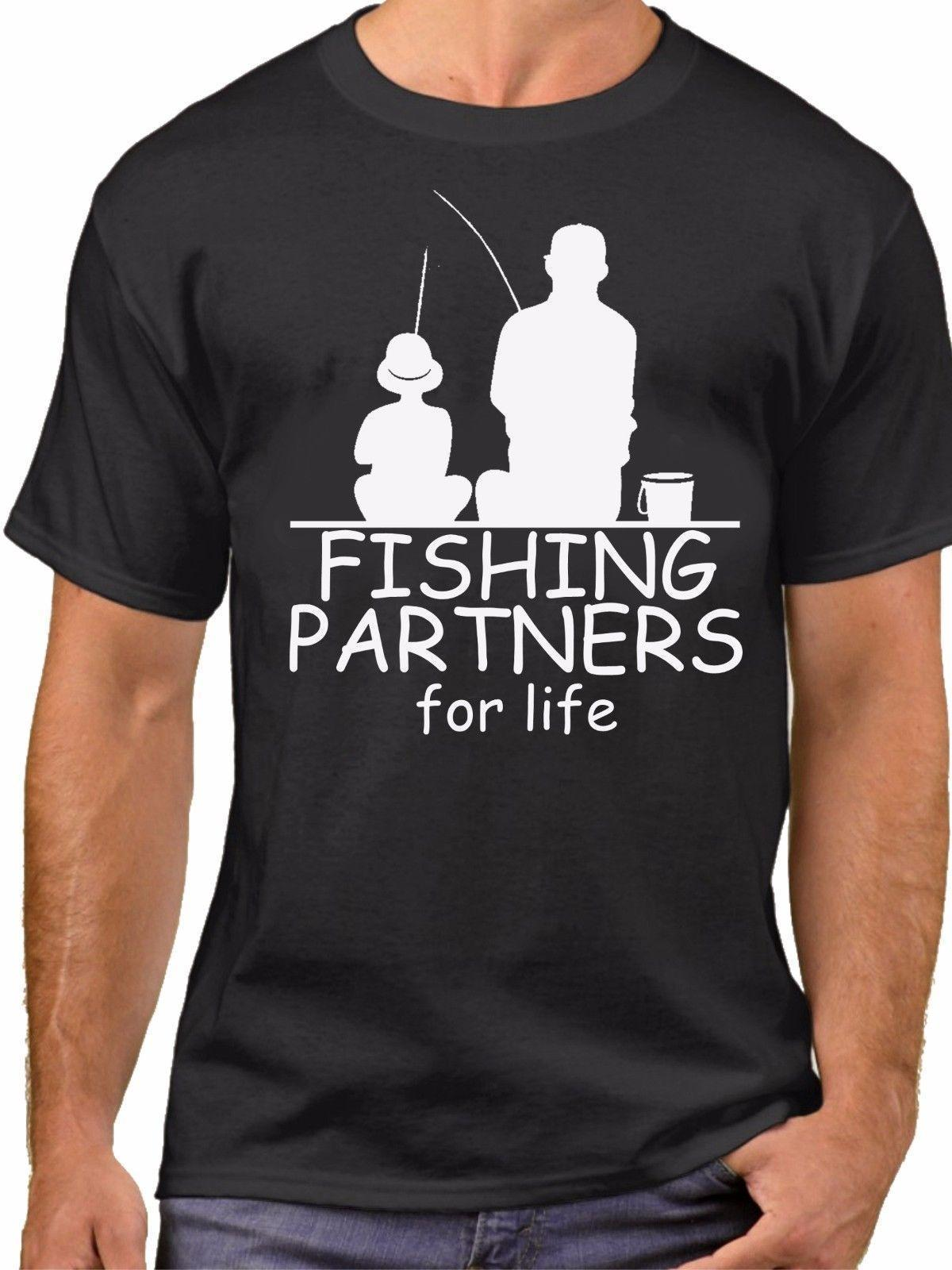 dd2ab150 Fishing Partners Shirts Father And Son Daughter Matching SET Tee Fathers Day  Shop Online T Shirts T Shirt From Yubin4, $14.67| DHgate.Com