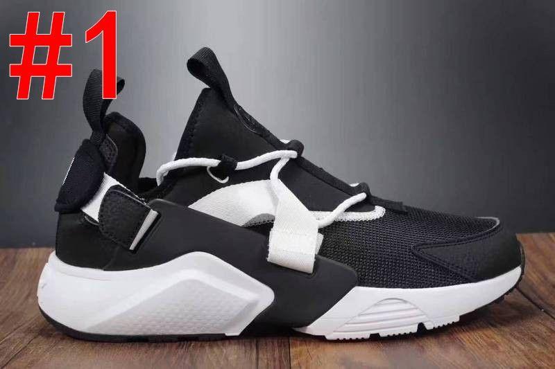 new styles 04c49 dcfe9 Acquista Nike Air Huarache 5 2018 New Huarache Ultra BR 5 V Air Scarpe Da  Corsa Uomo Donna Verde Nero Sneakers Huaraches Mens Scarpe Da Ginnastica  Boot ...