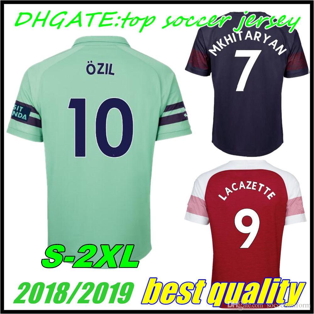 ... germany 2018 18 19 arsenal aubameyang lacazette soccer jersey  mkhitaryan 7 2018 2019 giroud ozil 11 7d236c0a9