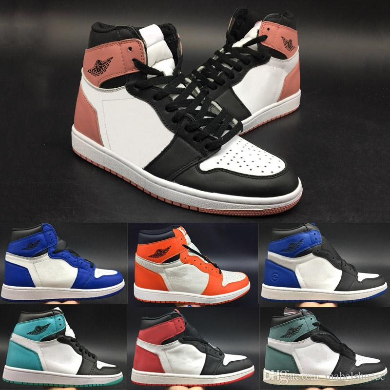 a4f2842e5e9 2018 Wholesale 1 1s High Game Royal Rust Pink Igloo Basketball Shoes  Sneakers Men Designer Running Shoes Sports Trainers Without Box Cheap  Sneakers ...