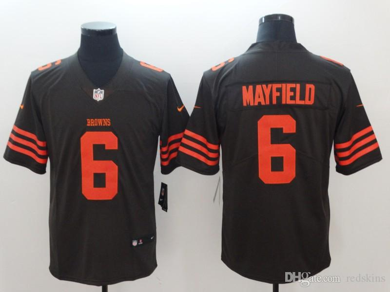 premium selection 59ea2 a0889 Baker Mayfield Jersey Cleveland Browns Jarvis Landry Myles Garrett 2019  camo salute to service american football jerseys discount hot sale