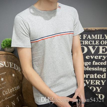 Cheap 2017 Fashion Active Personalized Print Express Cotton T Shirt Hip Hop Short Sleeve T Shirts Men142423