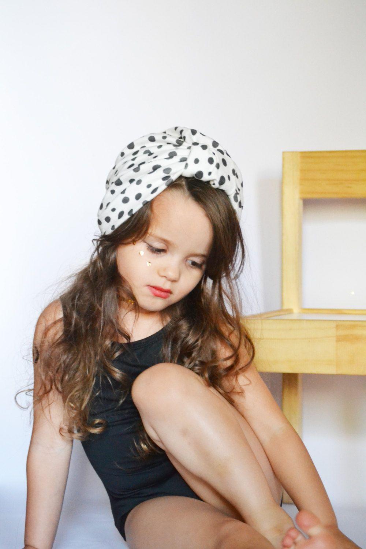 0396780ef New Fashion Dot Children Turban Hat Multicolor Summer Baby Beanie For Beach  Travel Bohemia Girls Cap