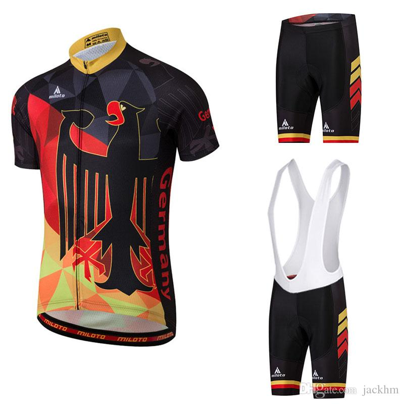 NEW HOT MILOTO Summer Cycling Jersey Set Maillot Ropa Ciclismo Cycling  Bicycle Clothing MTB Bike Clothes Uniform Cycling Set Bib Shorts Cycling  Jersey Sets ... 0a292db9c