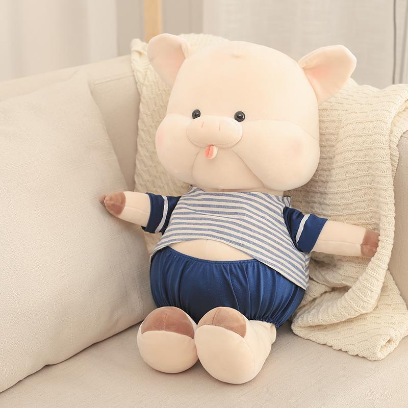 30cm 40cm Plush Toys Custom Stuffed Toy Plush Pig Doll Stuffed Animals  Children Doll Sleeping Pillow Toys For Girls UK 2019 From Cassial edeb56416