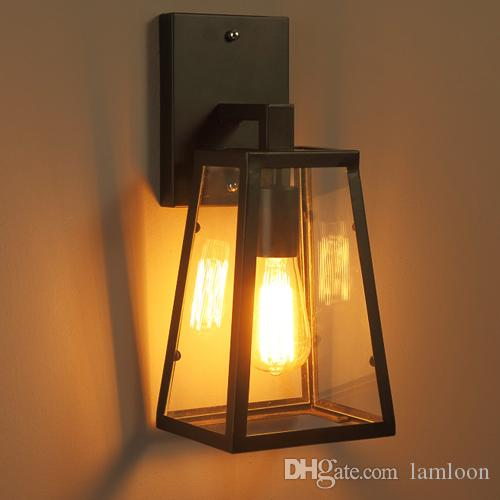 Northern European American Style Retro Led Wall Lamps for Balcony ...
