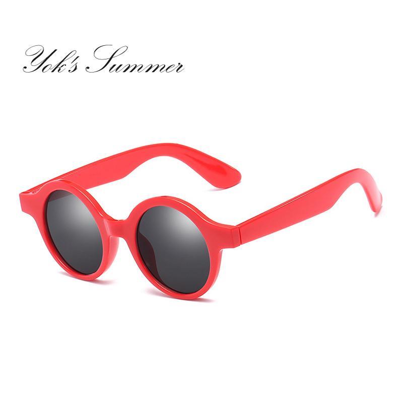50a2118bac Yok s Retro Red Oval Sunglasses Women Brand Designer Korean Retro ...