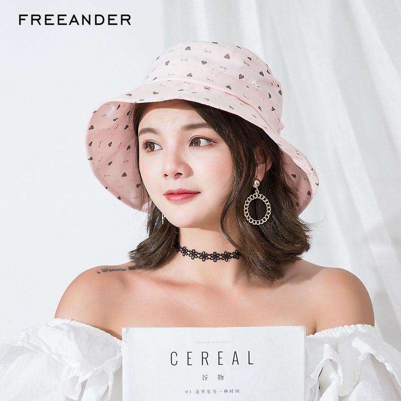 Freeander 2018 Fashion Bucket Woman Hat Hiking Hat Bow Tie Little Girls  Summer Hats Wide Brim Outdoor Solid Beach Panama Caps Kangol Hats Kentucky  Derby ... 9ce09b4f22f
