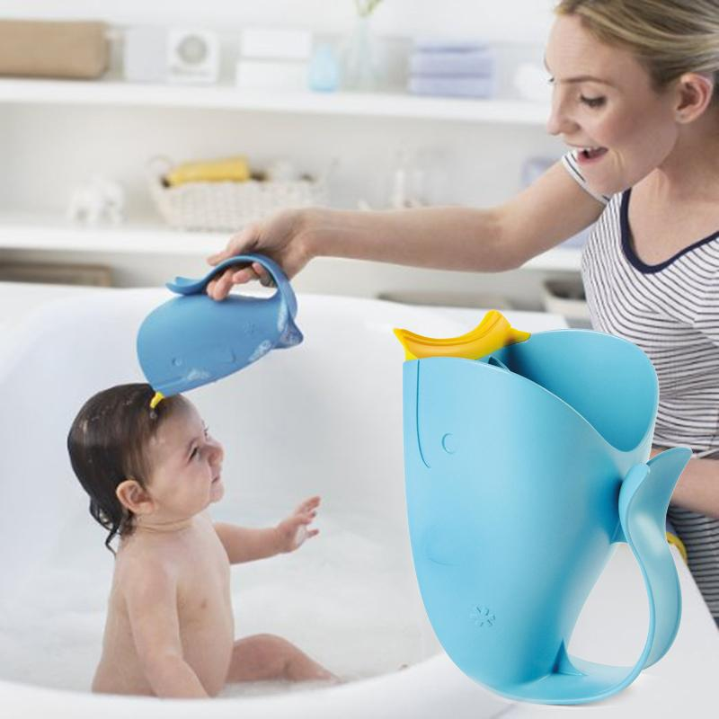New-Baby-Bath-Visor-Bath-Cups-Baby-Shampoo-Cup-Children-Bathe-Bathing-Bailer-Baby-Shower-Spoons (4)