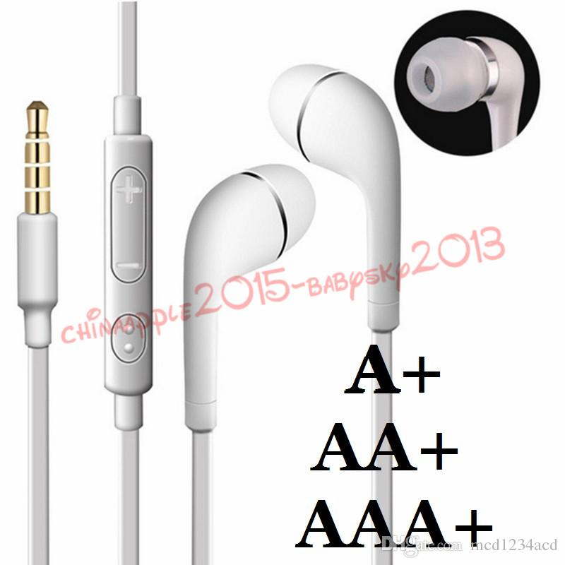 سماعات رأس ستيريو J5 سماعات الرأس 3.5mm سماعات رأس سماعات مع هيئة التصنيع العسكري والتحكم عن بعد ل Samsung Galaxy S3 S6 S7 S8 ملاحظة 2 4 HTC Android Phone