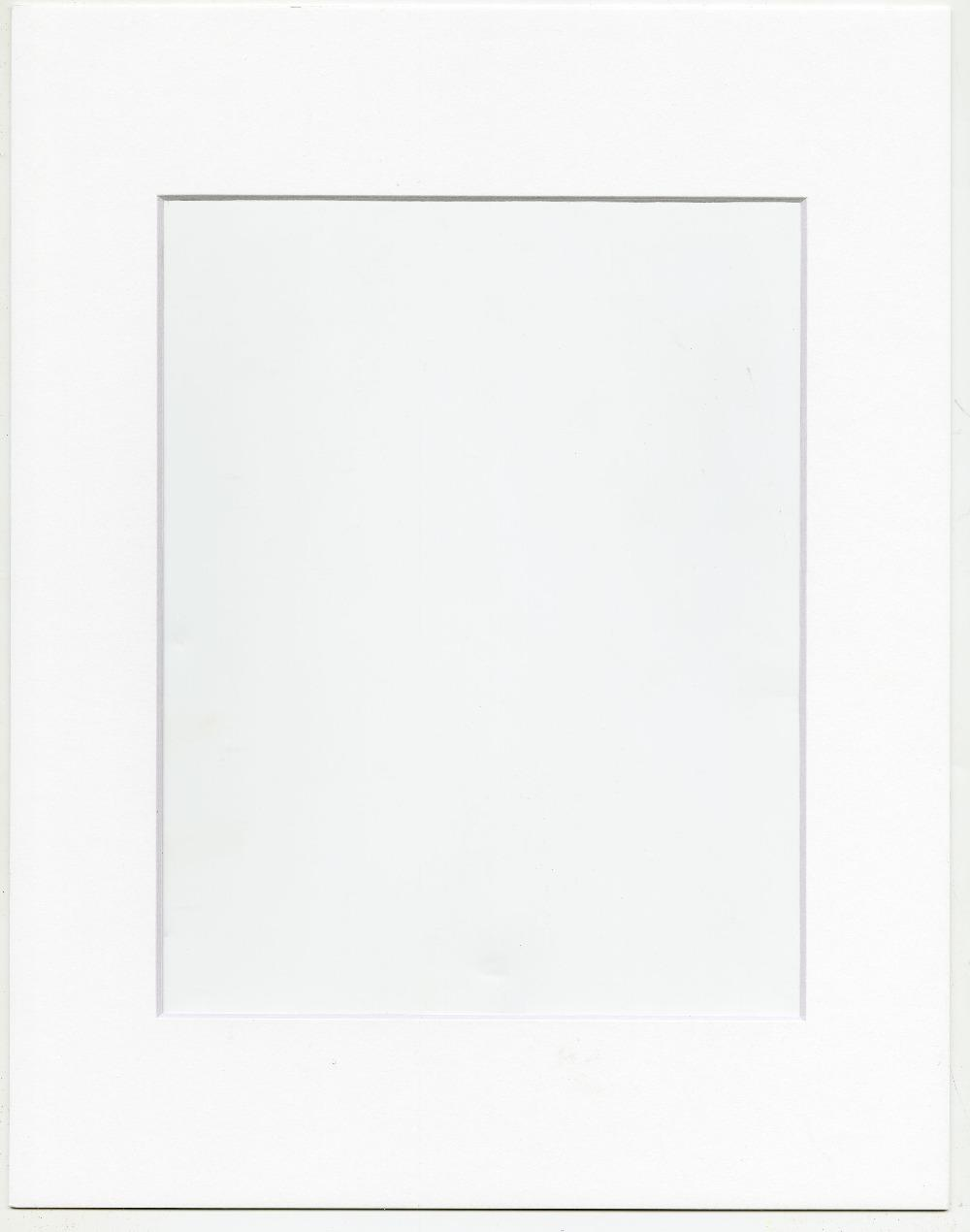 Pack 11x14 Solid Color Pre-cut Opening Matboard for Picture Frame ...