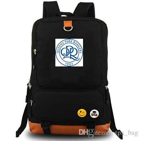 9d0fc4c0d QPR Rucksack Queens Park Rangers Daypack Rs Football Club Schoolbag Soccer  Packsack Team Backpack Laptop School Bag Outdoor Day Pack Laptop Rucksack  ...