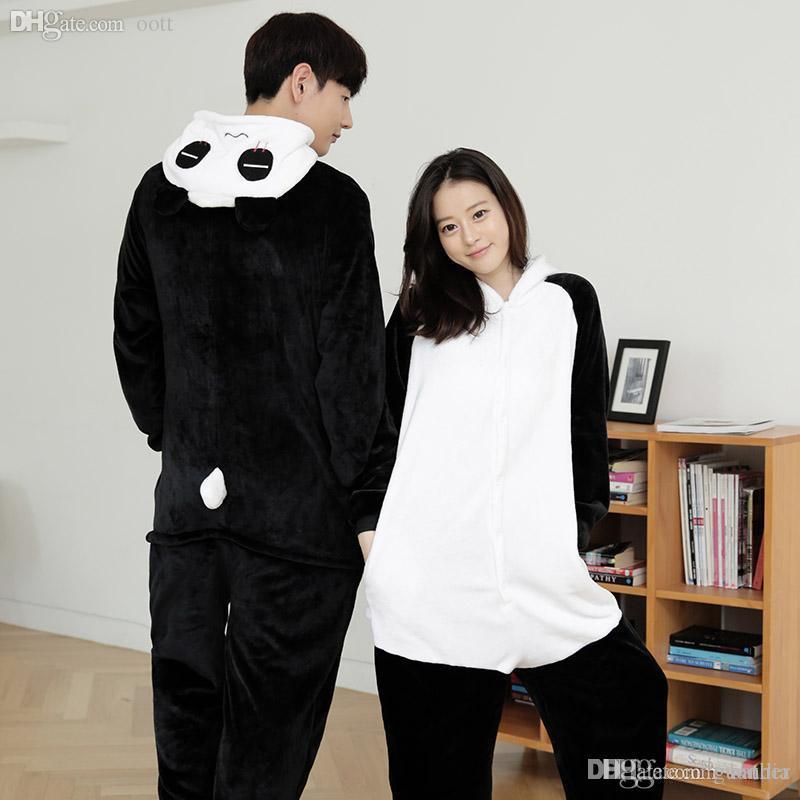 bb69cdff7a Wholesale Unisex Adults Cute Fluffy Kung Fu Panda Cosplay Costume Jumpsuit Pajama  Sets Animal Onesies Costume Pyjamas For Women Men Final Fantasy Cosplay ...