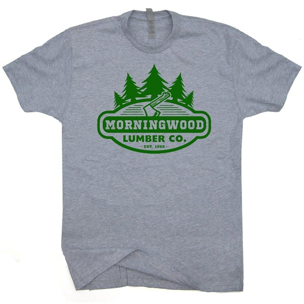 8ac9f1540 Men Fashion Morningwood Lumber Company T Shirts Funny Carpenter Offensive  Rude Morning Wood Lumberjack Novelty It T Shirt Design Clever Tee Shirts  From ...