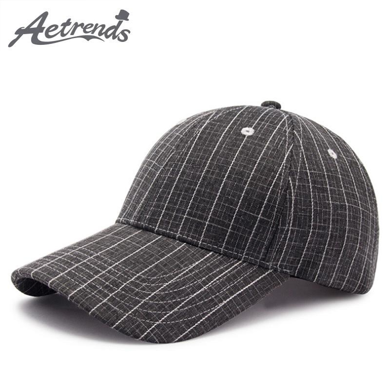 AETRENDS 2018 New Plaid Baseball Cap Trucker Hats For Men Sports Caps  Women s Hat Canada Vintage Snapback Hip Hop Cap Z 6582 Mesh Hats Superman  Cap From ... 659e7b3b5949