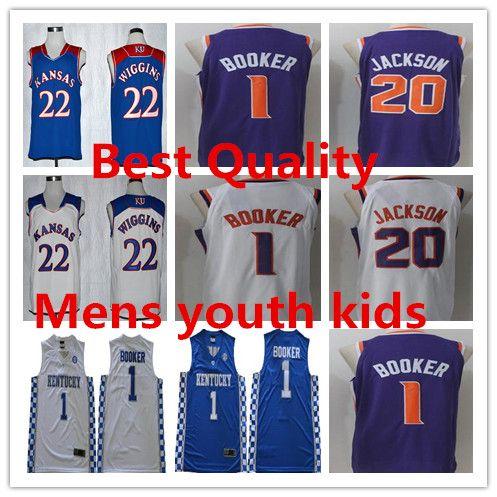 1def2b15c3a ... discount ncaa kentucky wildcats college devin booker basketball jerseys  mens youth kids 2018 new josh jackson