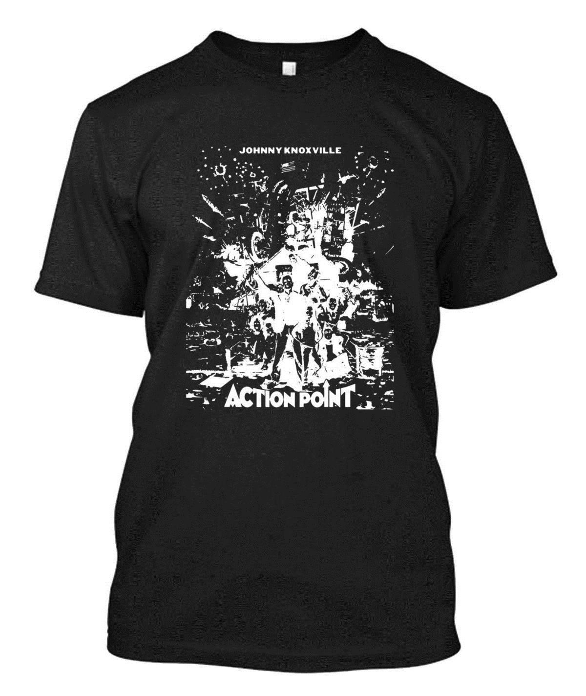 Action Point Custom T Shirt Tee Funny Print Shirts White T Shirt