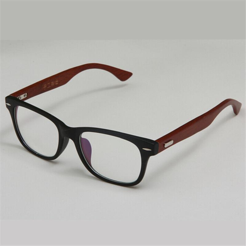 Compre Gafas De Madera Hechas A Mano Con Estilo Marco Gafas De ...