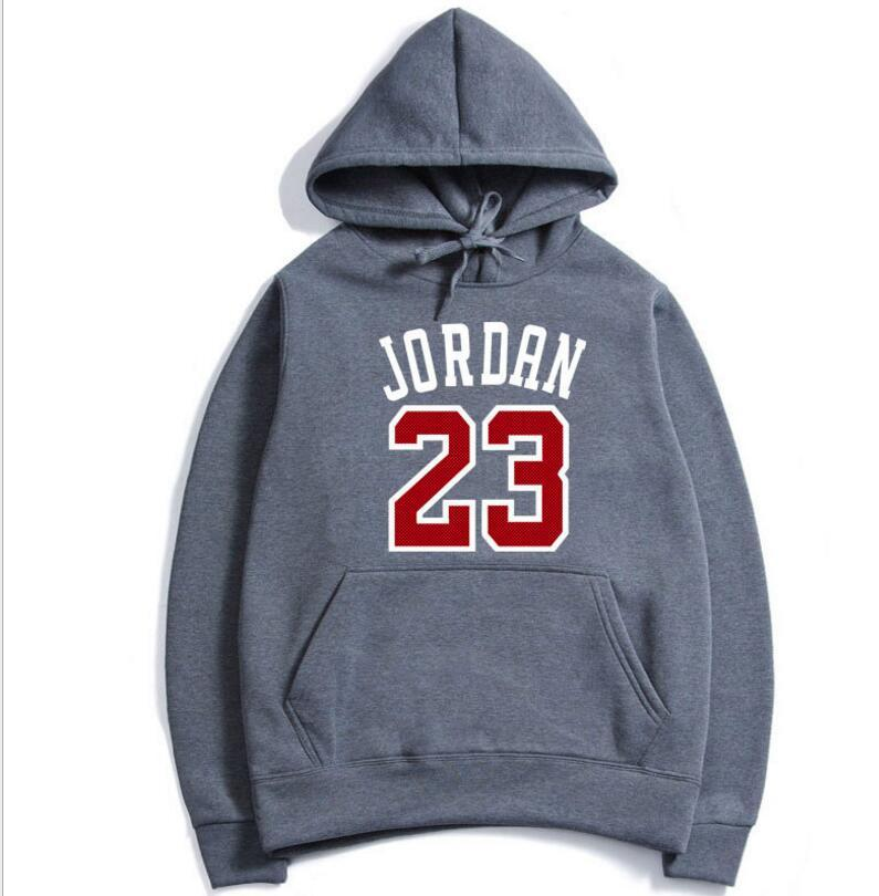 3e9e54a8fea 2019 New Design Autumn And Winter Man Long Sleeve Hoodies 23 Letter Printed  Pullover Fashion Sweatshirts Sport Style Coats Basketball Uniform From  Dhaape, ...