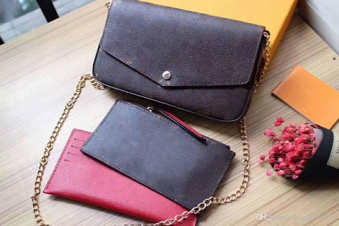 SELL Women Genuine Leather Woc Clutch Handbag 64065 Brand Designer ... 5c9841213426d