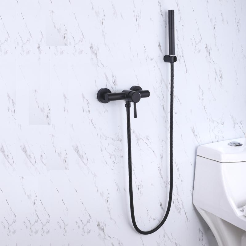 2018 Strong Brass Two Mode Spray Shower Head With 150mm Interval ...